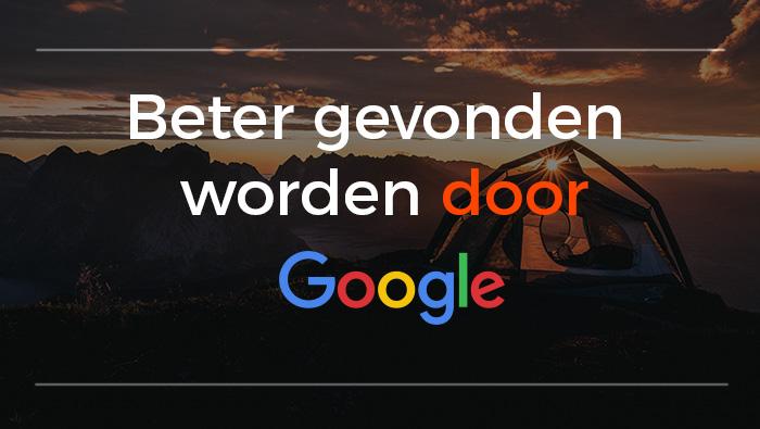 SEO Sight Beter gevonden worden door Google